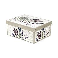 Картонная коробка. Размеры 32x42x17 см.