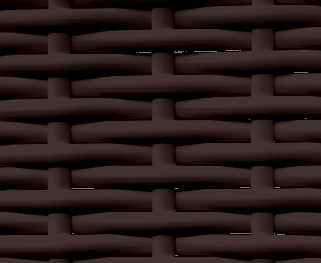 Ротанг полоса 9мм шоколад 8017