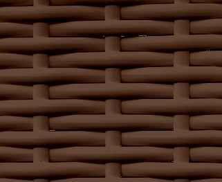 Ротанг месяц 8мм коричневый