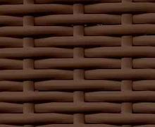 Ротанг полоса  20мм коричневый