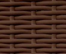 Ротанг полоса  8мм коричневый