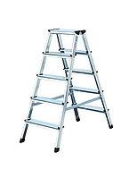Лестница-стремянка двухсторонняя 2х4 ступ. Dopplo®, фото 1