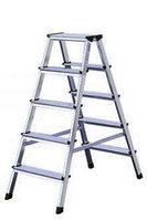 Лестница-стремянка двухсторонняя 2х5 ступ. Dopplo®, фото 1