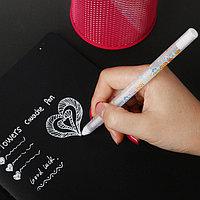 Гелевая ручка с белыми чернилами, фото 1