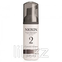 Несмываемая питательная маска для тонких заметно редеющих волос Nioxin Scalp Treatment System 2, 100 мл.