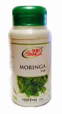 Моринга: детокс и антиоксидант, 60 таб, производитель Шри Ганга; Moringa Tab, 60 tabs, Sri Ganga Pharmacy