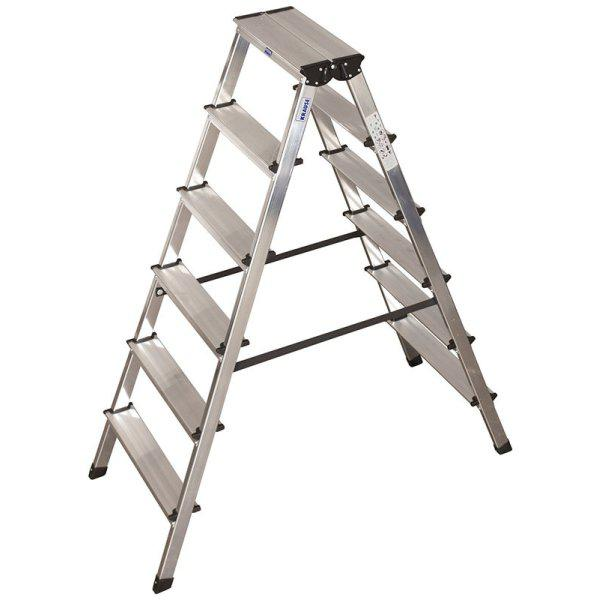 Лестница-стремянка двухсторонняя 2х6 ступ. Dopplo®