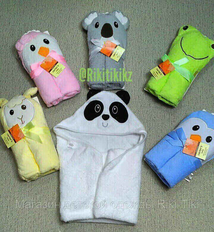 Полотенце уголок для малышей