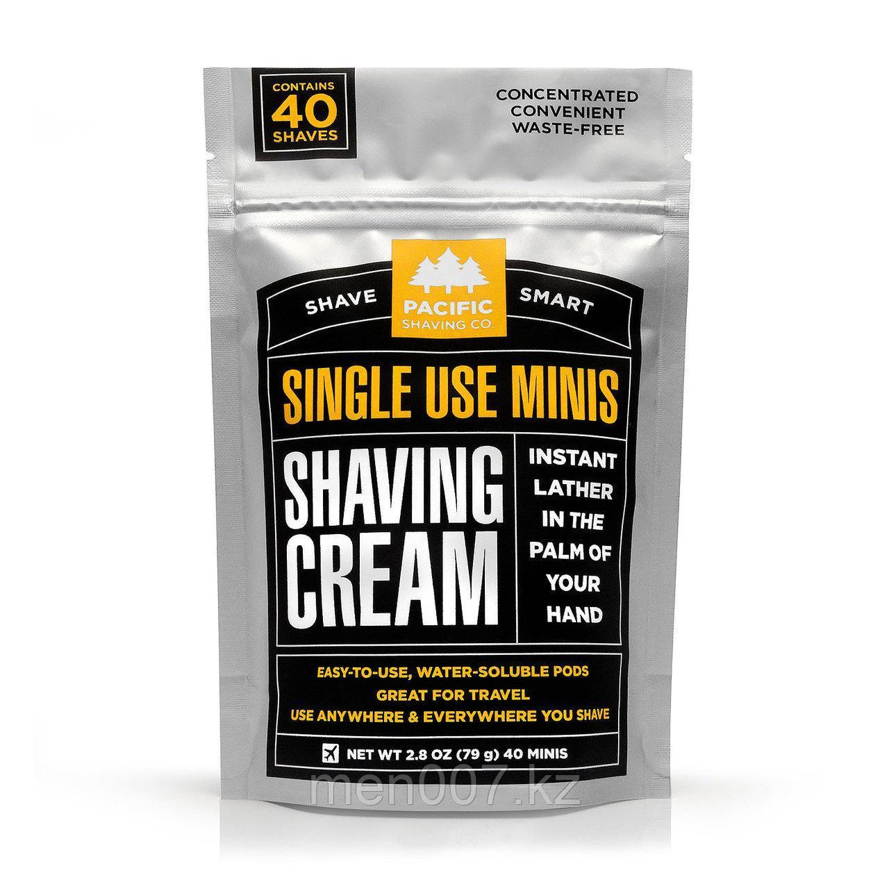 Pacific Shaving Cream (Крем-пена для бритья в капсулах)