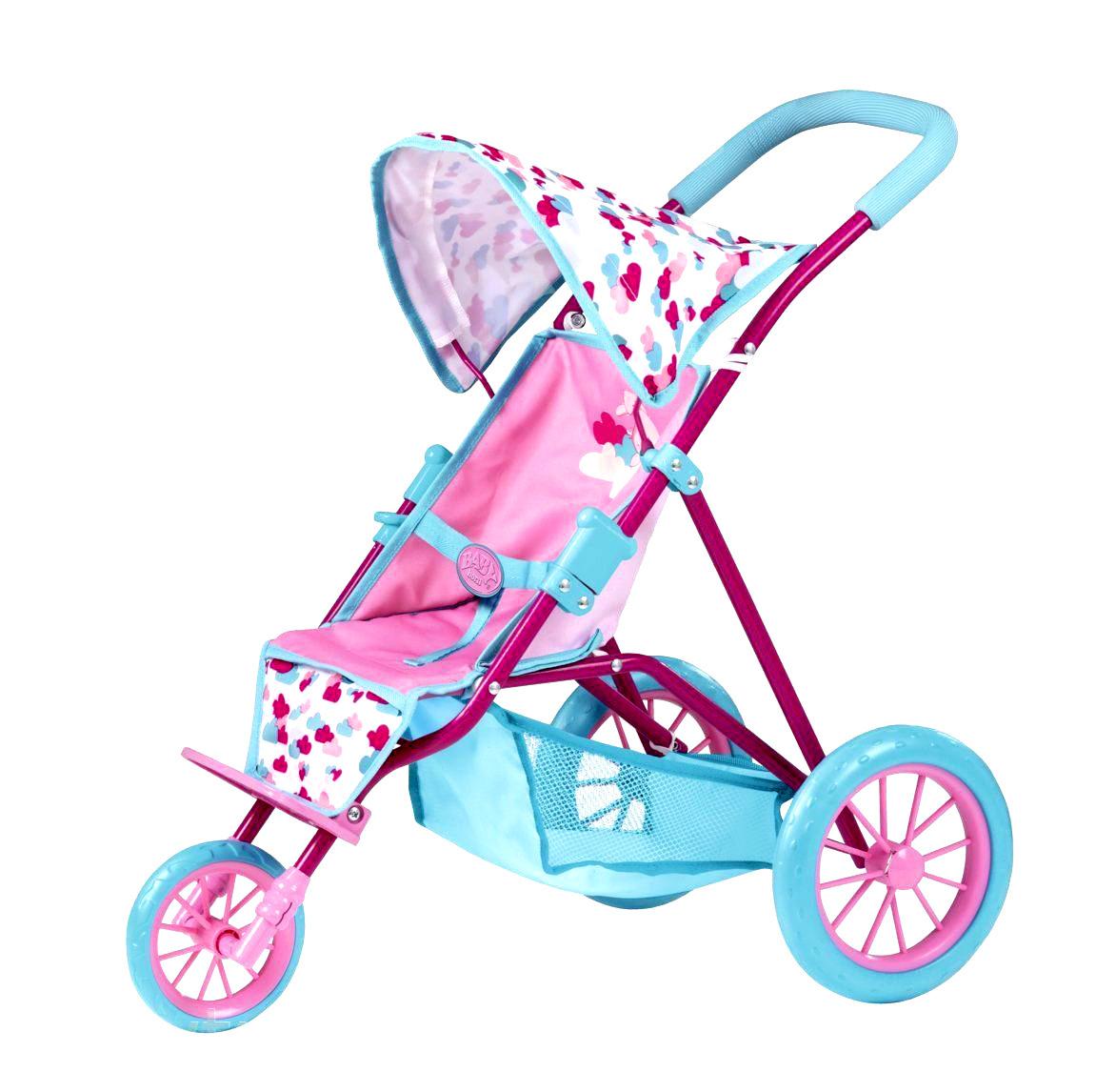 """Baby Born Трехколесная коляска для кукол Беби Борн """"Чудесный денек"""", 58 см"""
