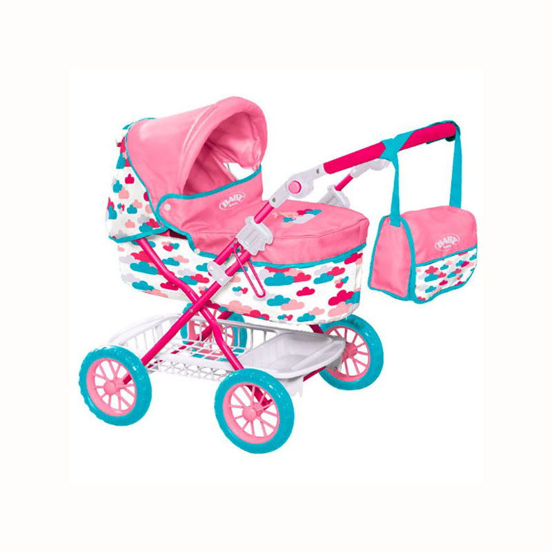 "Baby Born Коляска для кукол Беби Борн ""Делюкс"" с сумкой, 74 см"