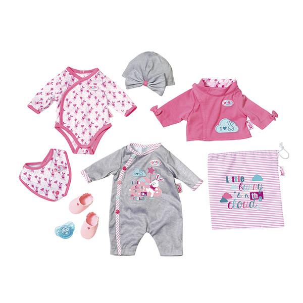 Baby Born Набор одежды для кукол Беби Бон, 9 предметов