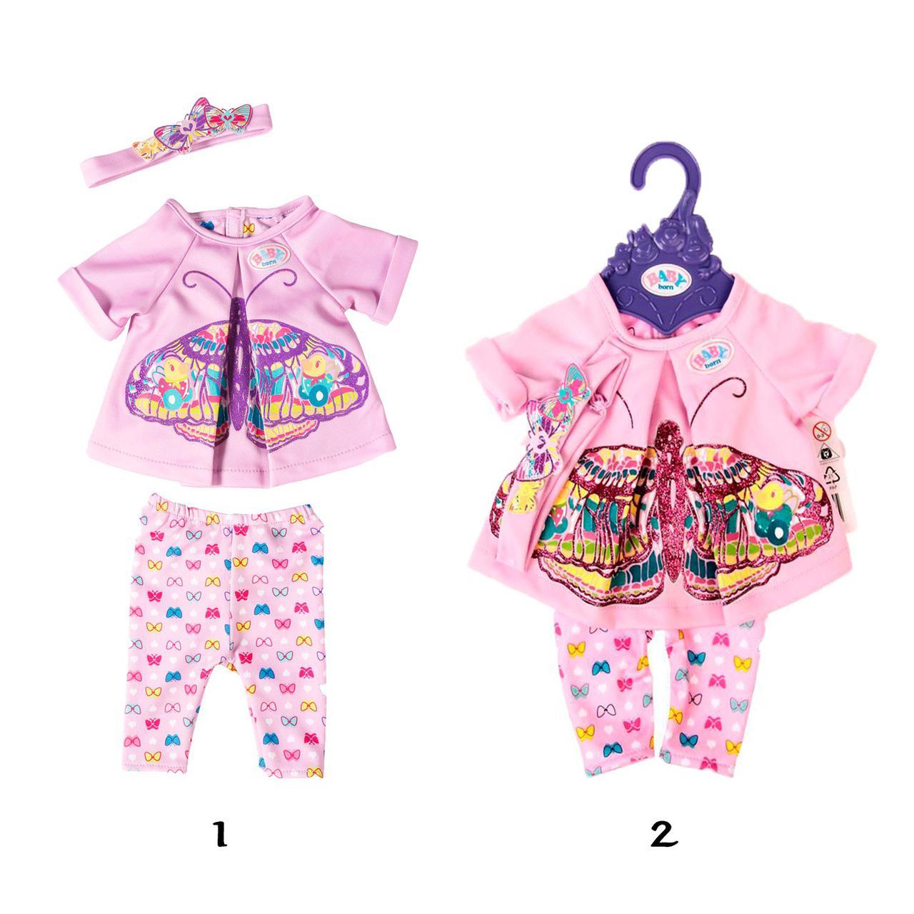 Baby Born Одежда для кукол Беби Бон - Удобная одежда для дома, в ассортименте