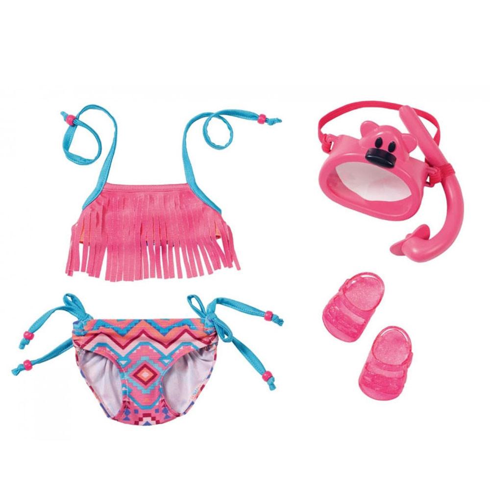 Baby Born Набор одежды для кукол Беби Бон - Купальник с аксессуарами