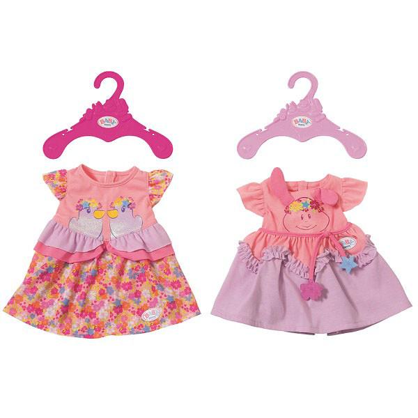 Baby Born Одежда для кукол Беби Бон - Платья в ассортименте