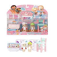 Baby Secrets Игровой набор с детским стульчиком
