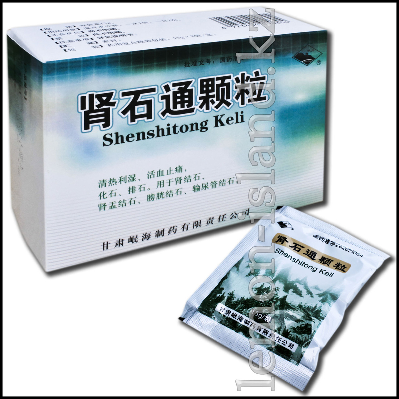 "Чай почечный ""Шэньшитун"" (Шеншитонг, Shenshitong Keli)."