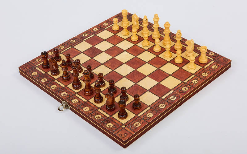 Шахматы, нарды и шашки магнитные 39 см