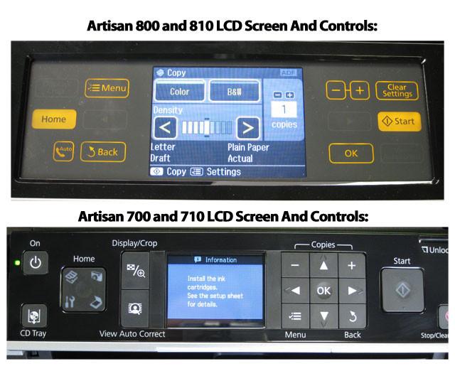 Ремонт принтера Epson Artisan 710