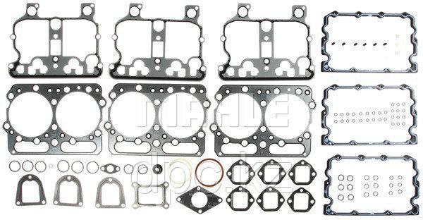 Верхний комплект прокладок MAHLE HS5858AH для двигателя Cummins NT-855 3803444 3803606 3803713 3804286