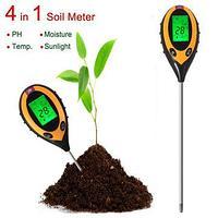 Электронный измеритель pH, влажности, температуры и освещенности почвы