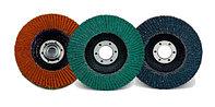 Диск лепестковый шлифовальный / Flap wheels CS & SS