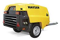 Передвижной на шасси, строительный, винтовой, дизельный компрессор Kaeser M-27, Германия