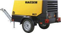 Передвижной на шасси, строительный, винтовой, дизельный компрессор Kaeser M-27 PE, Германия