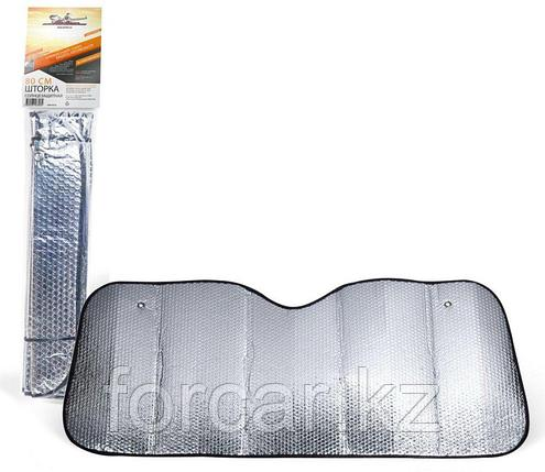 Шторка солнцезащитная 80 см на лобовое стекло (80х145х80х135 см) , фото 2