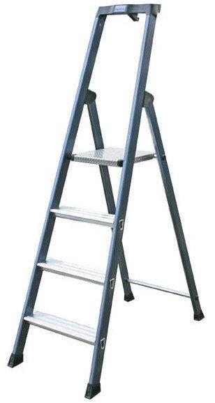 Лестница-стремянка 4 ступ. SePro® S анодированная