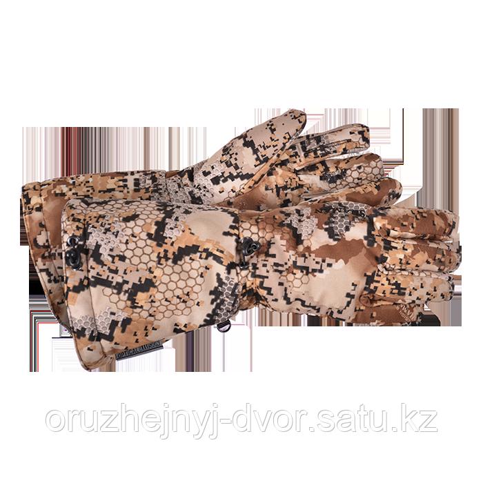 Перчатки зимние ШАМАН WINTER hand, тк.Канада-Флис, цв.Саванна, L-24