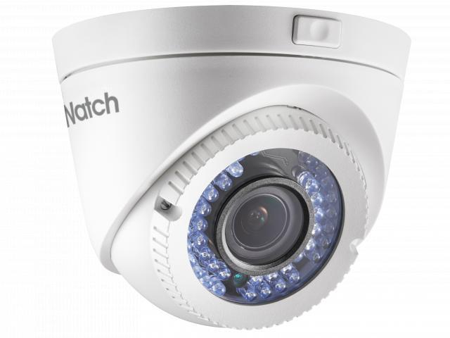 DS-T109 1Мп уличная купольная HD-TVI камера с ИК-подсветкой до 40м, вариообъектив 2.8-12мм