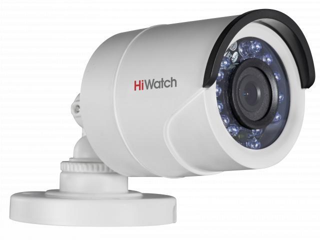 DS-T200 2Мп уличная цилиндрическая HD-TVI камера с ИК-подсветкой до 20м