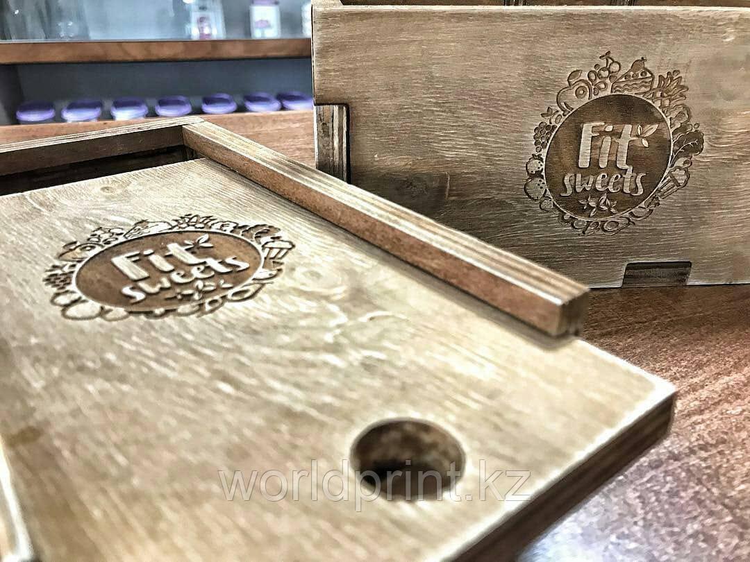 Сувенирные коробки из дерева