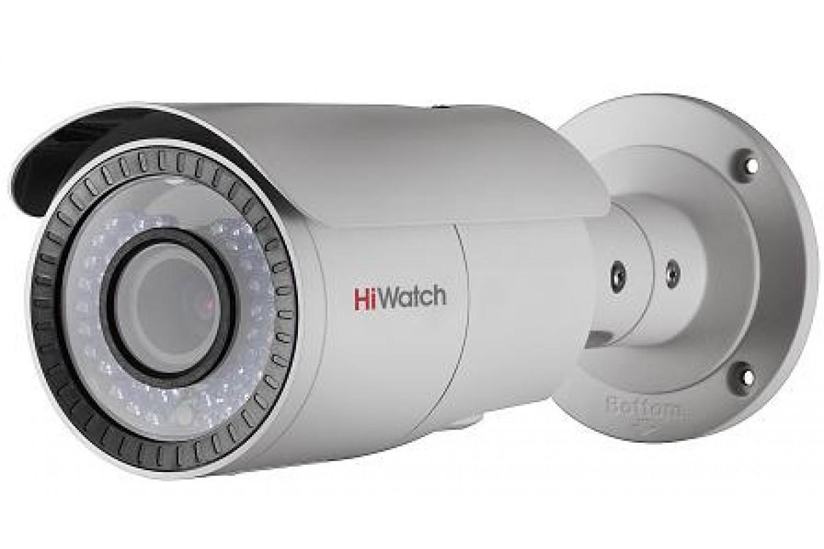 DS-T206 2Мп уличная цилиндрическая HD-TVI камера с ИК-подсветкой до 40м; вариообъектив 2.8-12мм