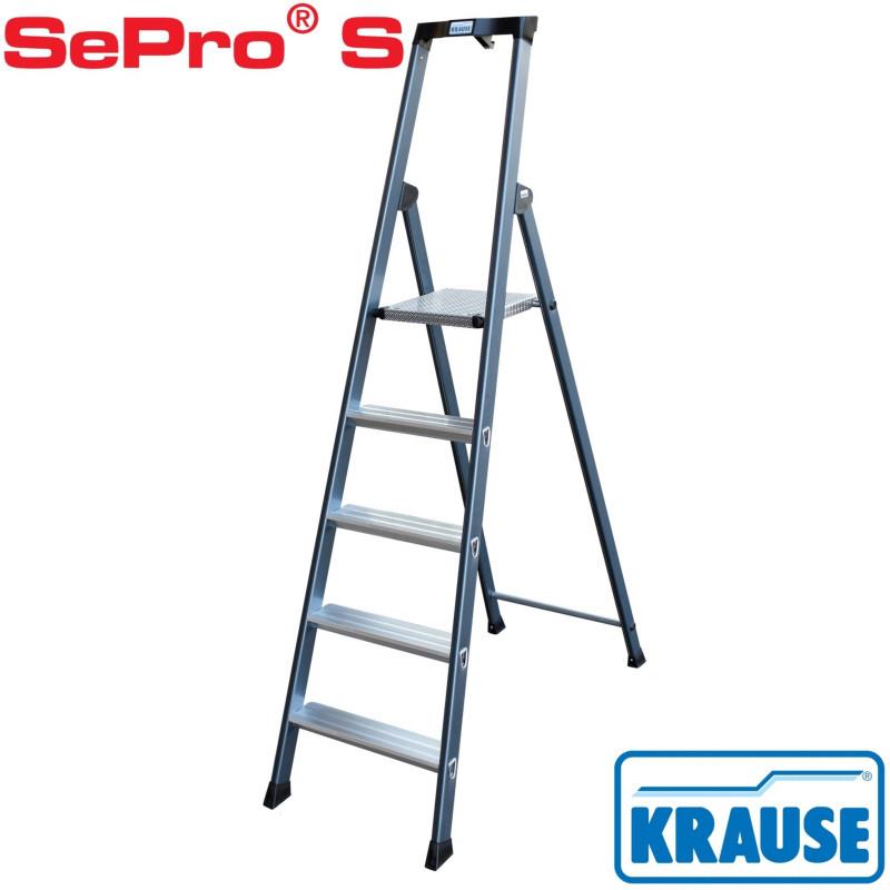 Лестница-стремянка 5 ступ. SePro® S анодированная