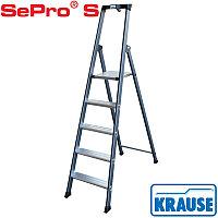 Лестница-стремянка 5 ступ. SePro® S анодированная, фото 1