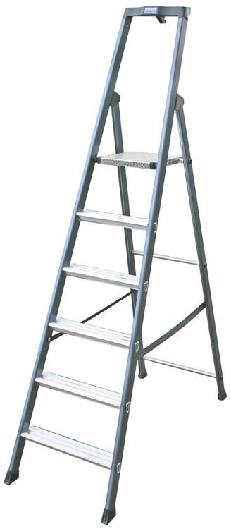 Лестница-стремянка 6 ступ. SePro® S анодированная