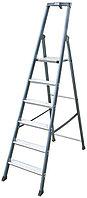 Лестница-стремянка 6 ступ. SePro® S анодированная, фото 1