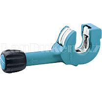"""Труборез ручной """"PIRANHA"""", 6-23 мм (1/4""""-7/8""""),мех.рег-ка зажима трубы,трещет.храповый мех.//GROSS 78703 (002)"""