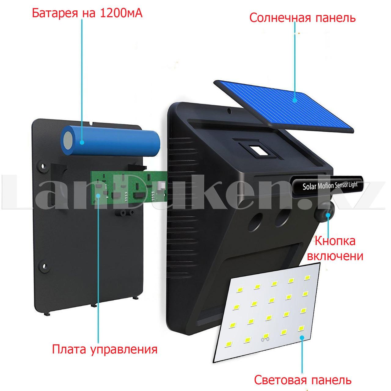 Садовый светильник на солнечной батарее водонепроницаемый (6009) - фото 4