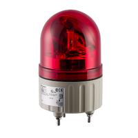 Красная вращающая лампа маячок,12 В пер./пост. тока, IP23, Монтажный диаметра 84мм