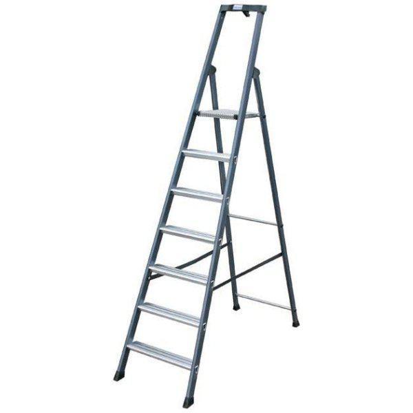 Лестница-стремянка 7 ступ. SePro® S анодированная