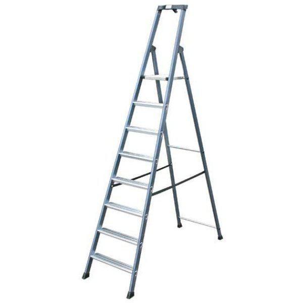 Лестница-стремянка 8 ступ. SePro® S анодированная