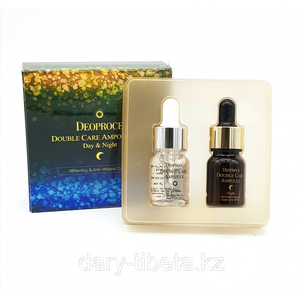 Deoproce Double Care Ampoule Set Day&Night-Ампулы двойного действия