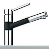 Кухонный смеситель Franke  350  хром/графит металлик (115.0006.707)
