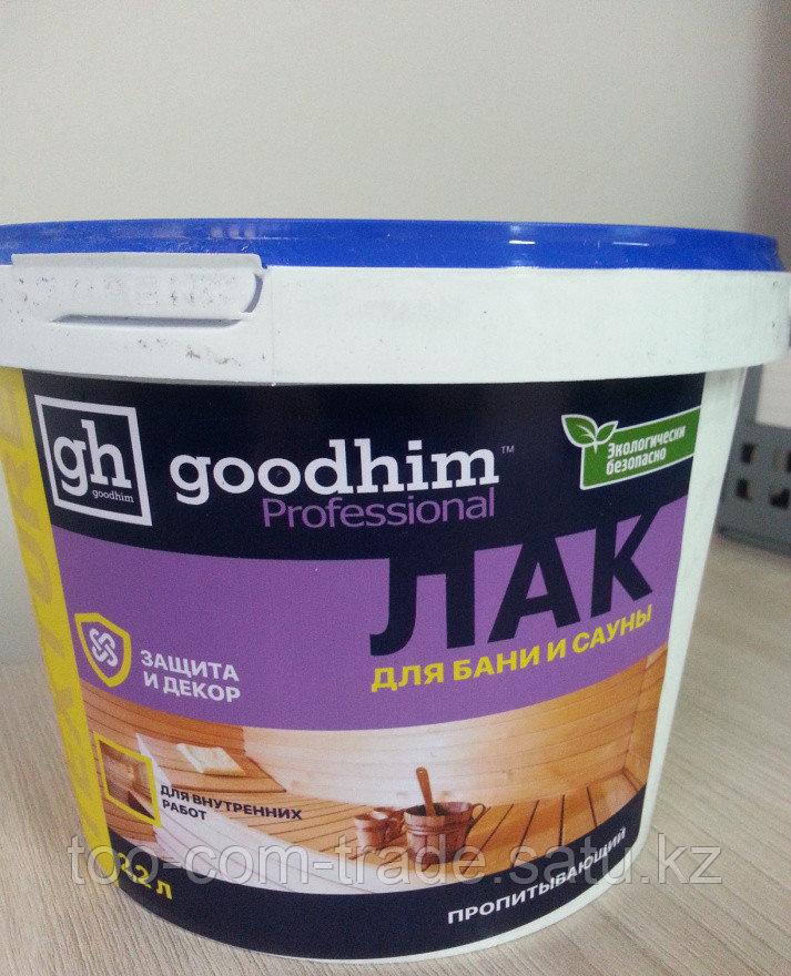 Лак для бань и саун Good Him  Россия  2 кг