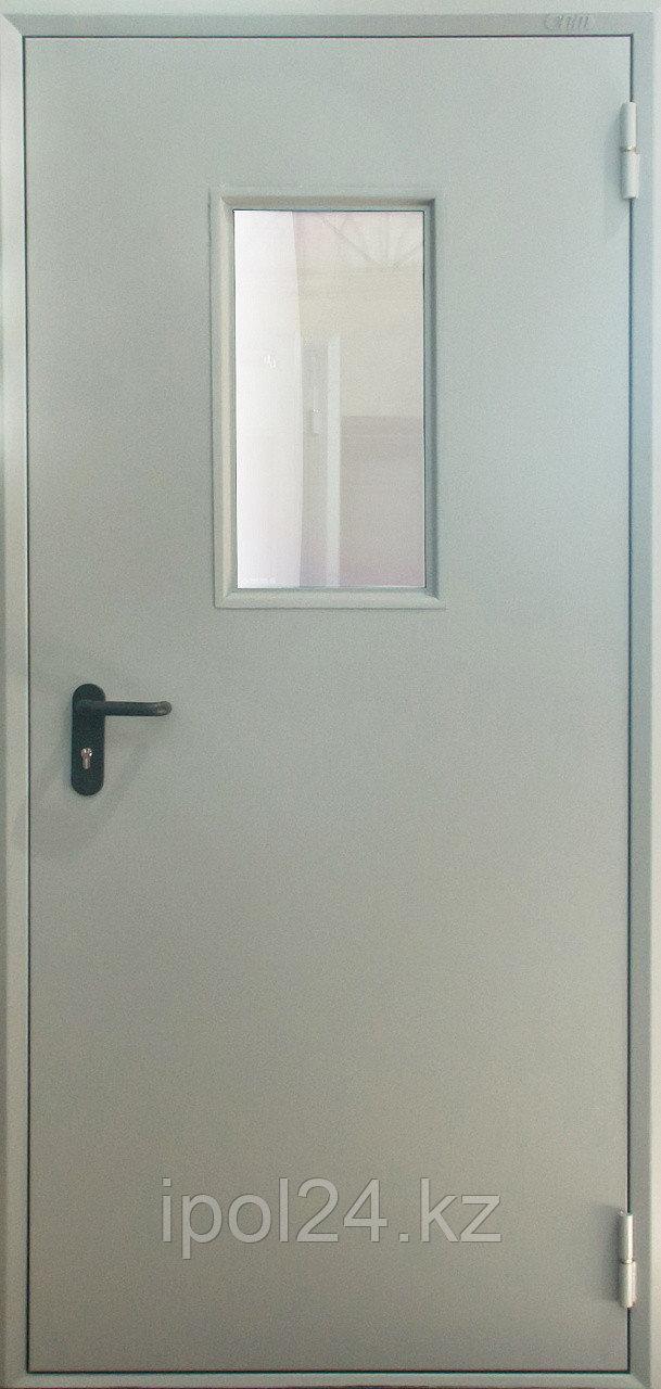 Металлическая противопожарная дверь Verda  ДМПО