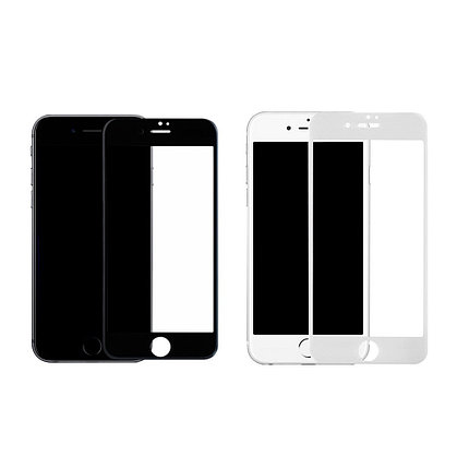 Защитное стекло Rinco 3D iPhone 7 Plus, iPhone 8 Plus, Black, фото 2