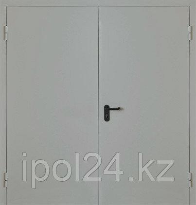 Металлическая противопожарная дверь Verda  ДМП двупольная